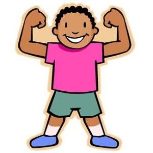 Clip Art Strong Body Clipart - Clipart Kid