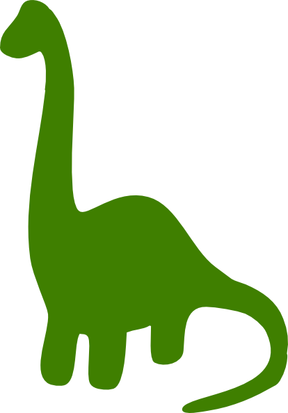Green Dinosaur Clip Art At Clker Com   Vector Clip Art Online Royalty