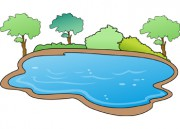 Lake This Illustration Is Available In Png Format At 300 Dpi Clipart