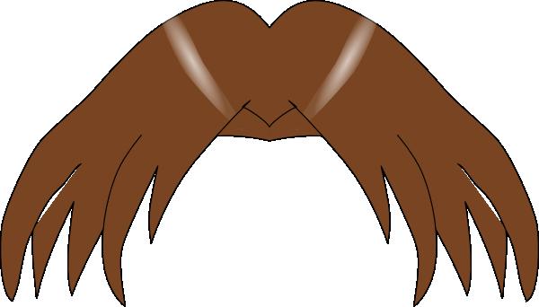 Manga Hair Clip Art At Clker Com   Vector Clip Art Online Royalty