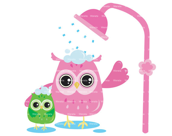 Owl Shower Clipart Clip Art Owl Shower Decorations Baby Shower Card