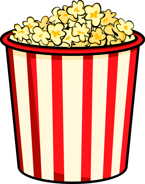 Popcorn Bag Clipart   Clipart Panda   Free Clipart Images