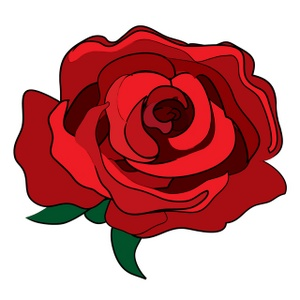 Clip Art Red Rose Clip Art rose free clipart kid red image