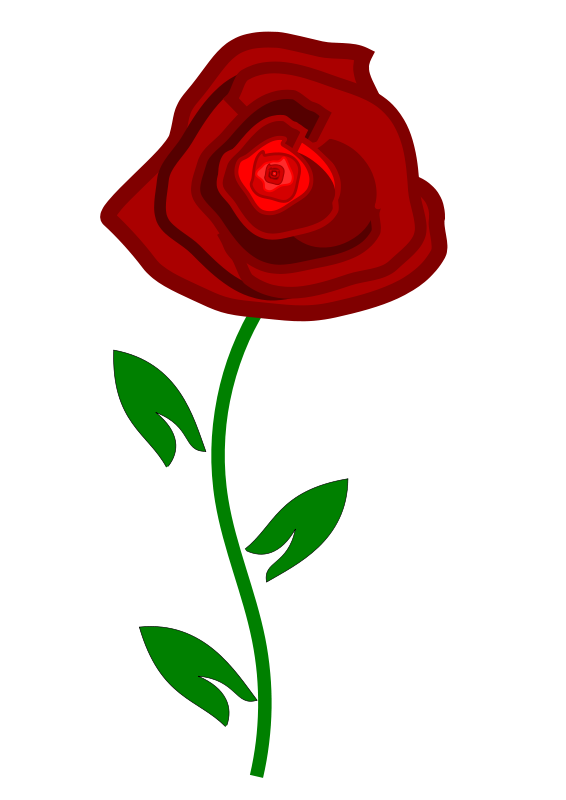 Rose Clipart - Clipart Kid