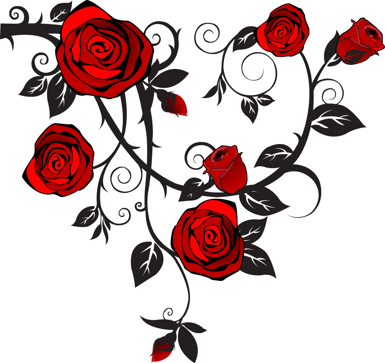 Rose   Free Images At Clker Com   Vector Clip Art Online Royalty Free