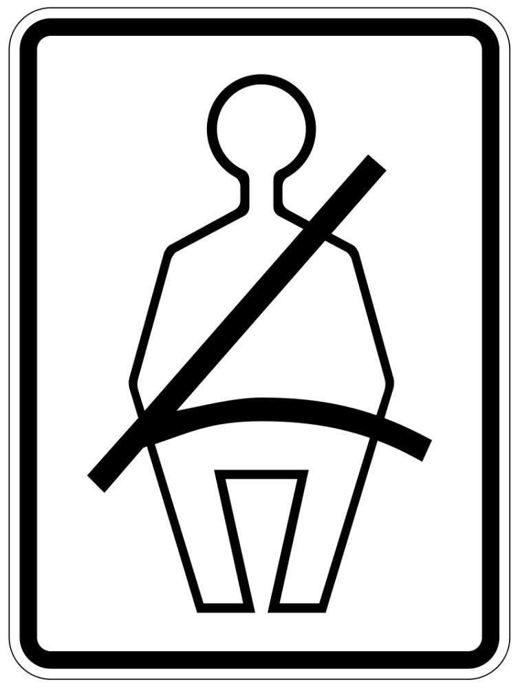Seat Belt Required Sign    Page Frames Full Page Signs Traffic Signs 1