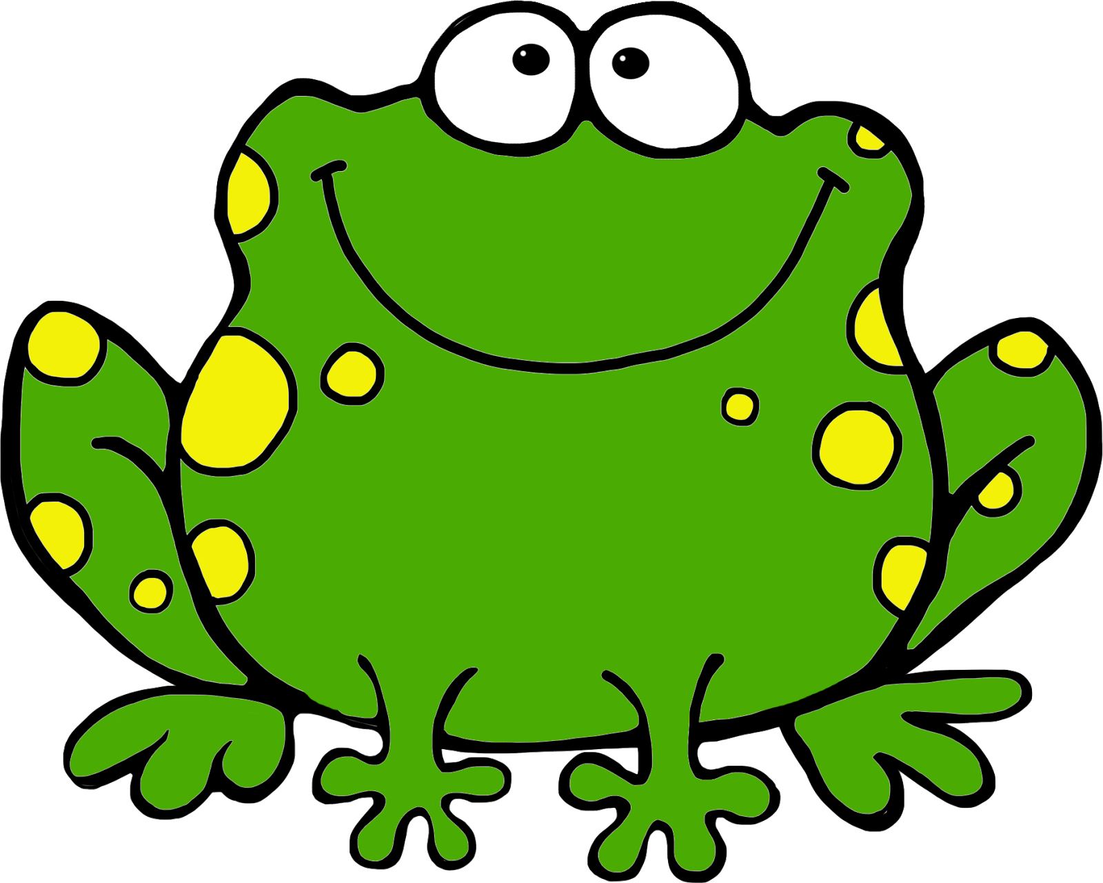 Frog Clipart - Clipart Kid