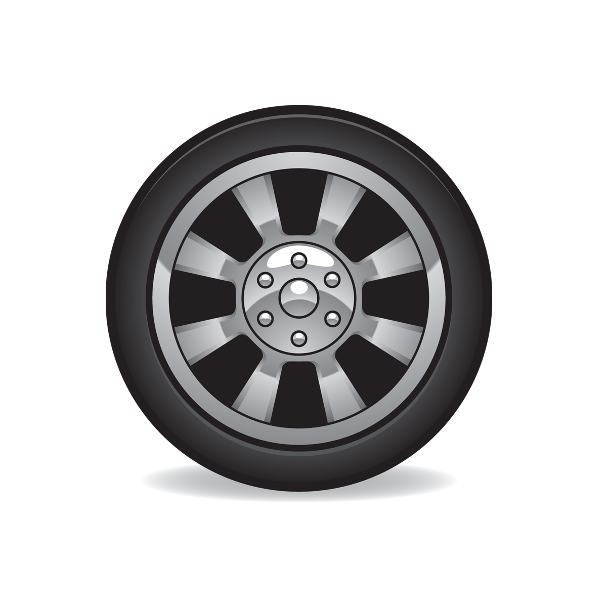 Tire Icon Full Size   Free Images At Clker Com   Vector Clip Art