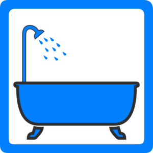 Tub And Shower Clip Art At Clker Com   Vector Clip Art Online Royalty