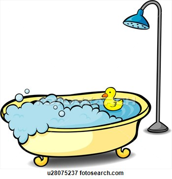 Clip Art Bathtub Clip Art shower and bathtub clipart kid u28075237 valueclips clip art
