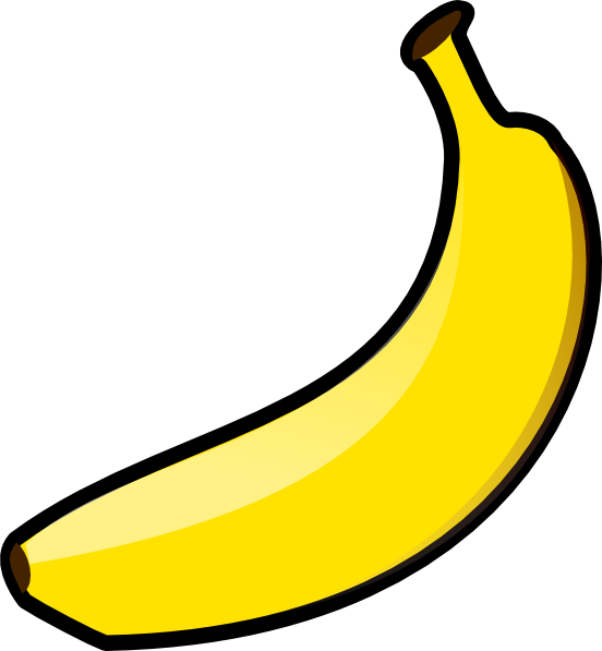 Banana Clipart Clipart Suggest