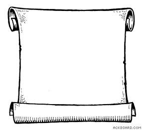 Blank Scroll Clip Art   Clipart Panda   Free Clipart Images