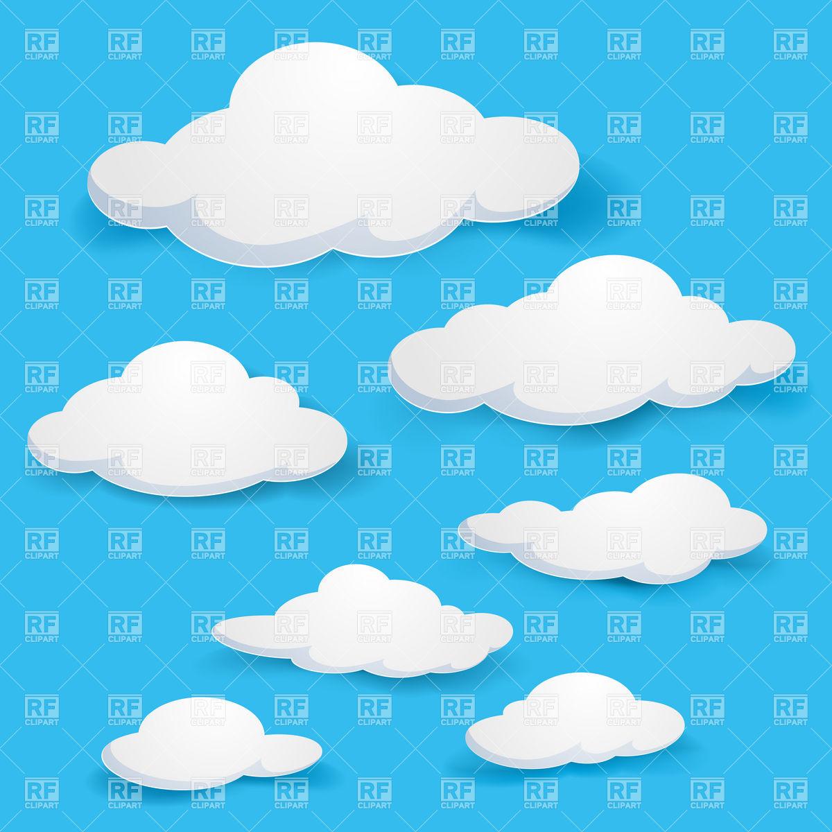 Cloudy Sky Clipart - Clipart Kid