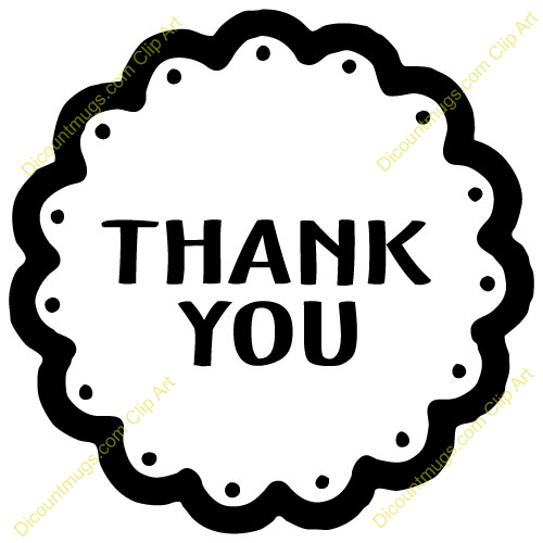 Clipart 10535 Thank You   Thank You Mugs T Shirts Picture Mouse Pads