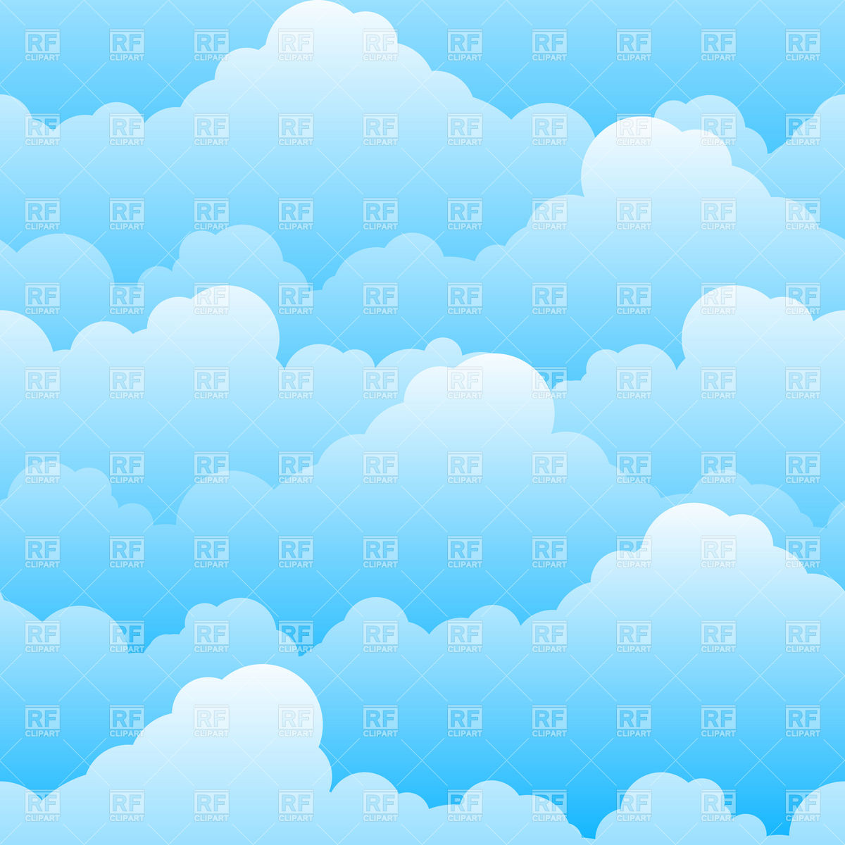 Cloudy Sky Background Download Royalty Free Vector Clipart  Eps