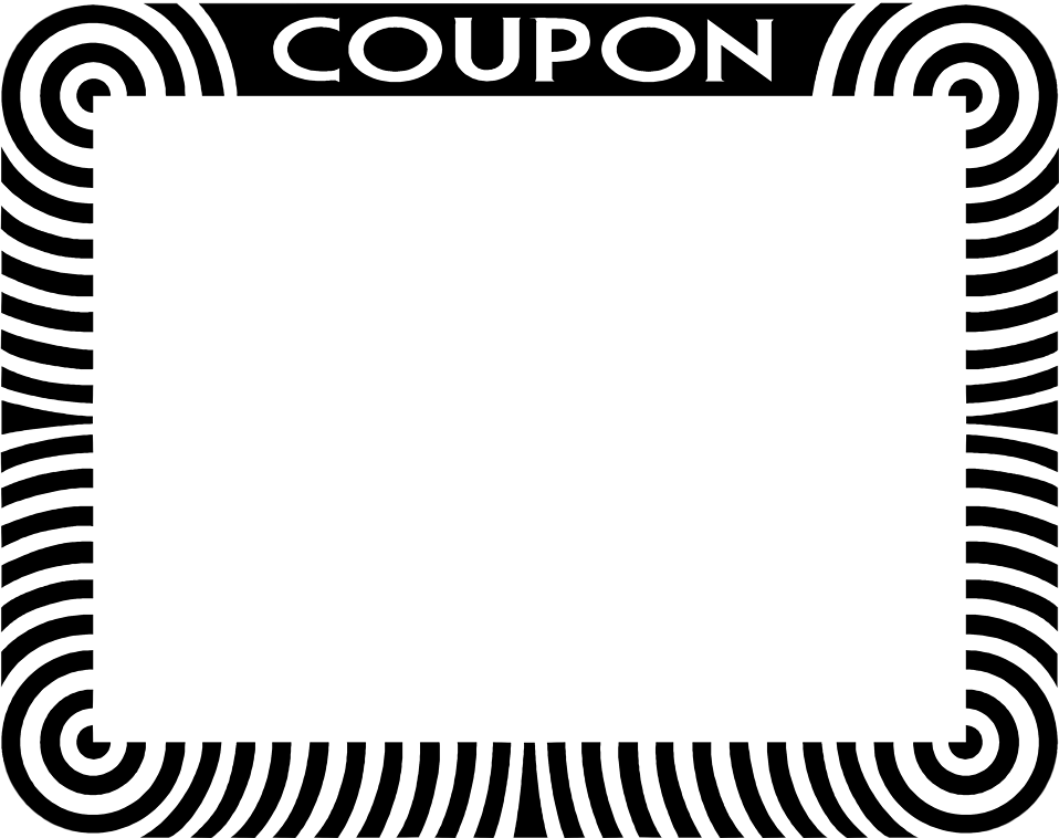 Blank Coupon Clipart - Clipart Kid