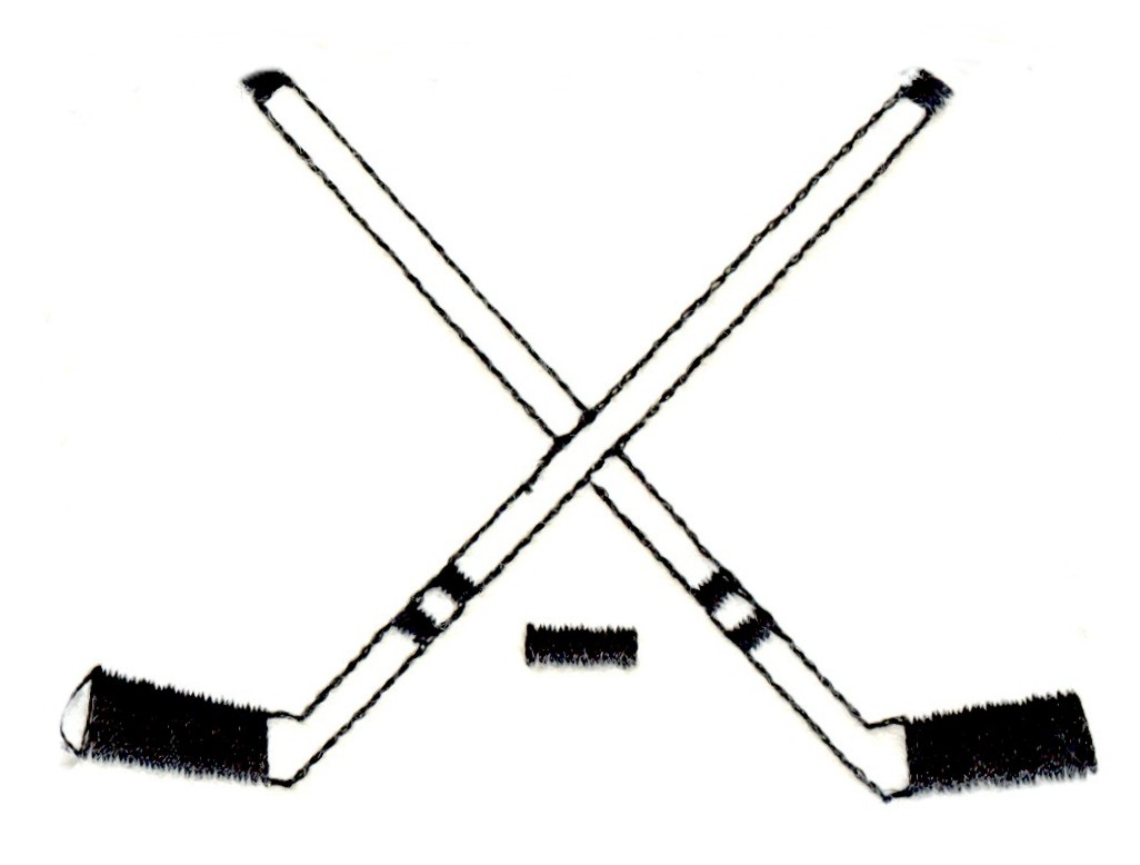 Crossed Field Hockey Sticks   Clipart Best