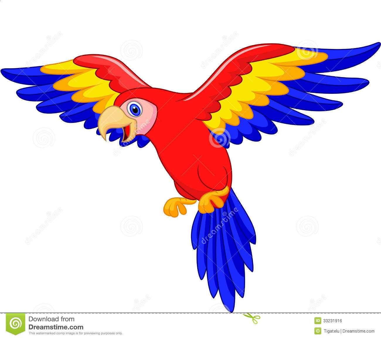 Cute Parrot Clipart - Clipart Suggest