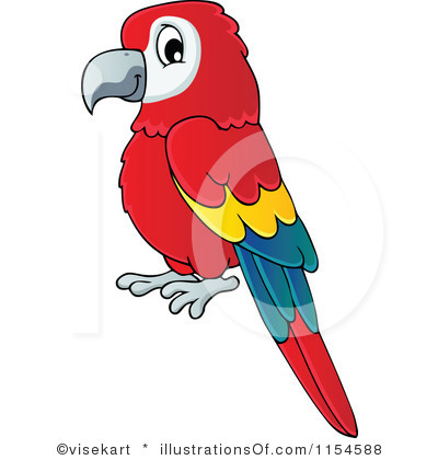 Clip Art Pirate Parrot...