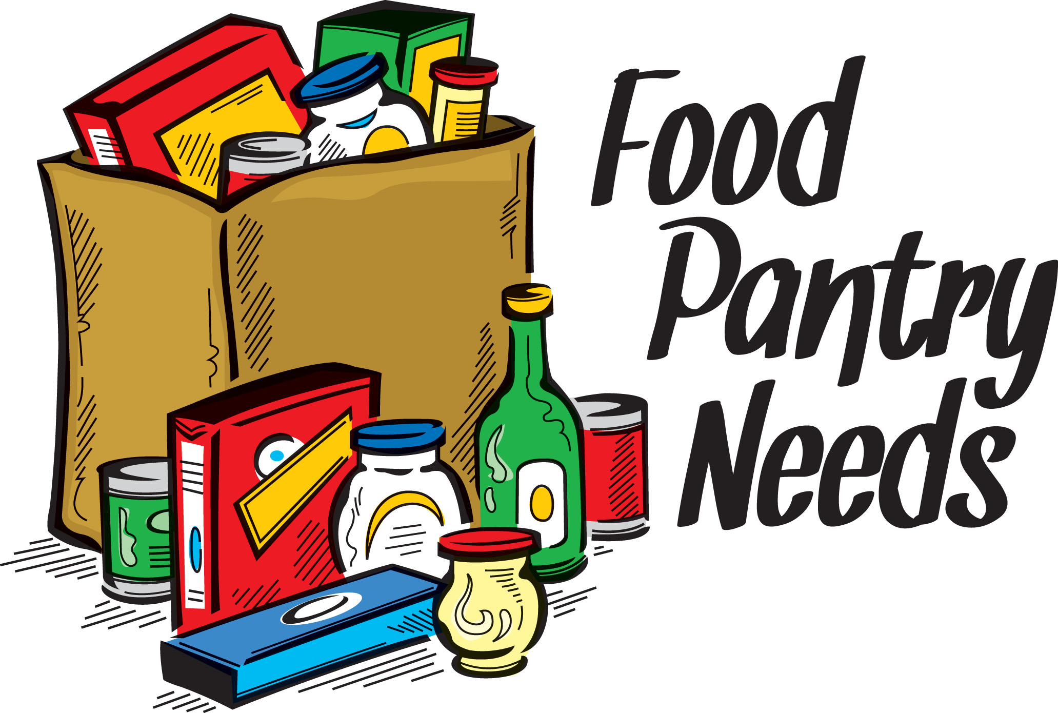 Food Pantry Clipart Food