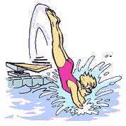 Diving Into Pool Clipart - Clipart Suggest