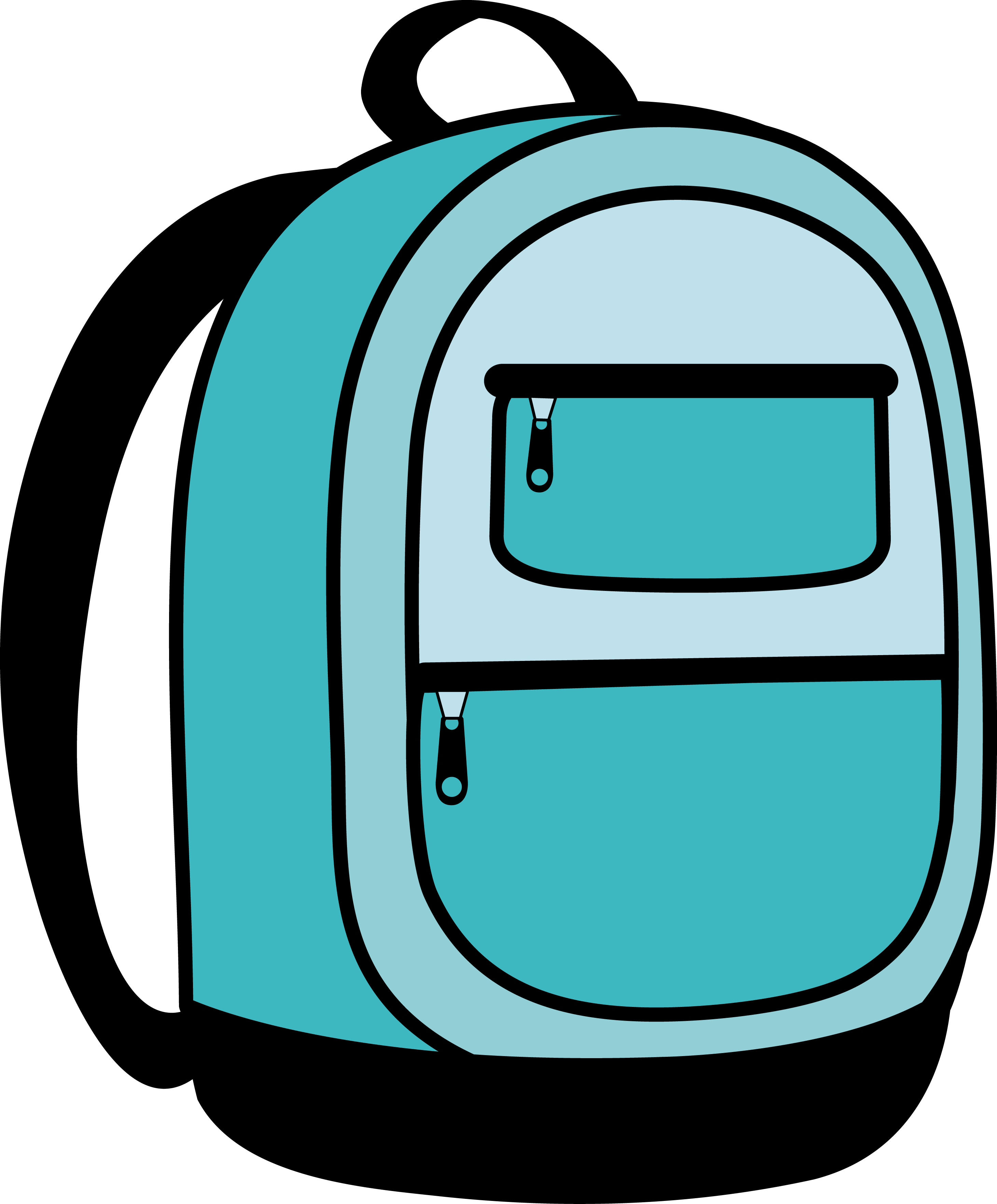Hiking Backpack Clipart