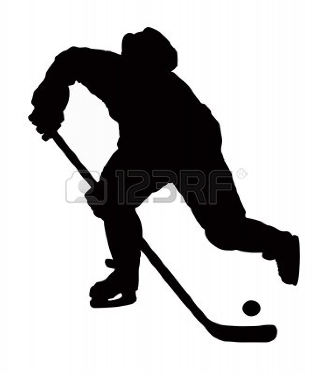 Red Hockey Stick Clipart - Clipart Kid