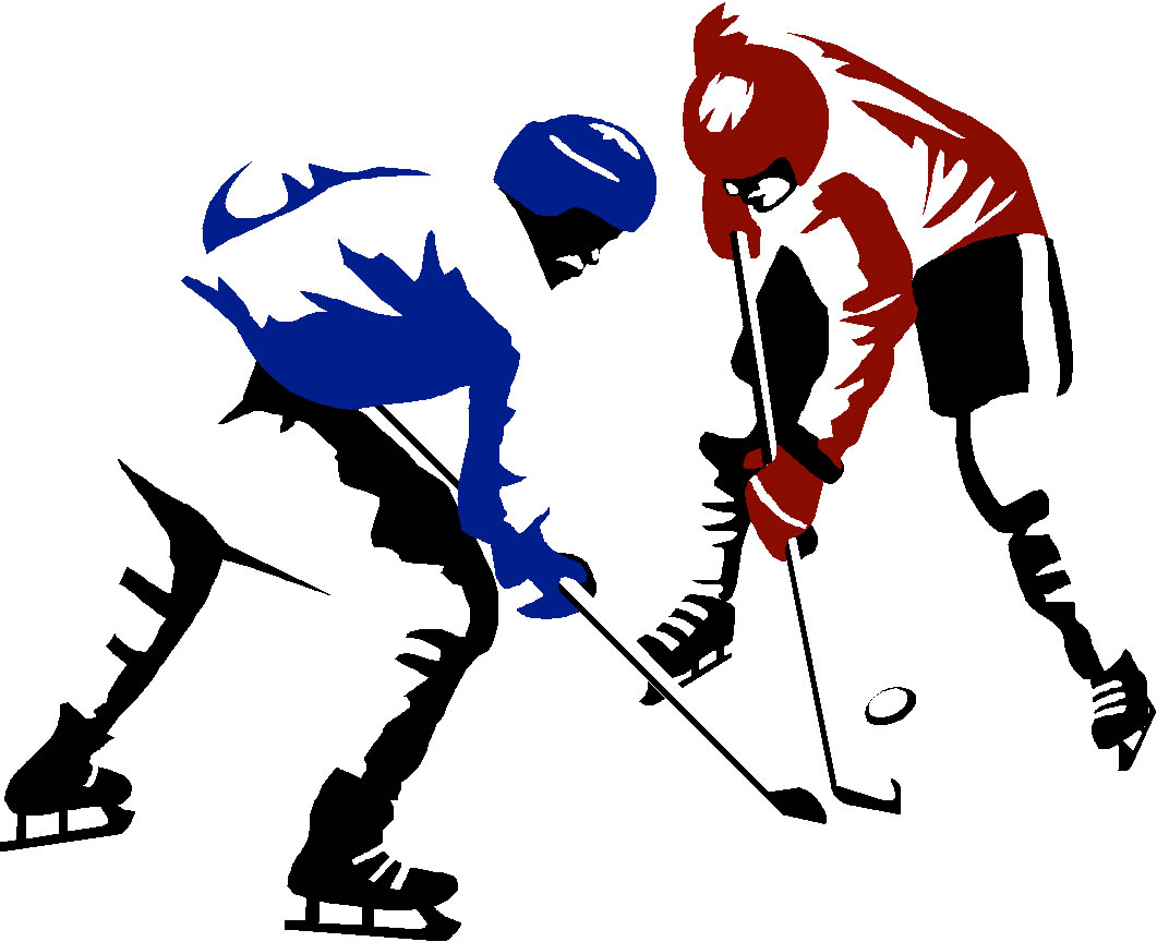 Clip Art Hockey Player Clipart cartoon hockey player clipart kid ice clip art 2 players gif