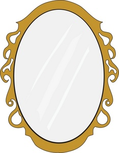 Clip Art Mirror Clip Art mirror clipart kid image oval with gold frame