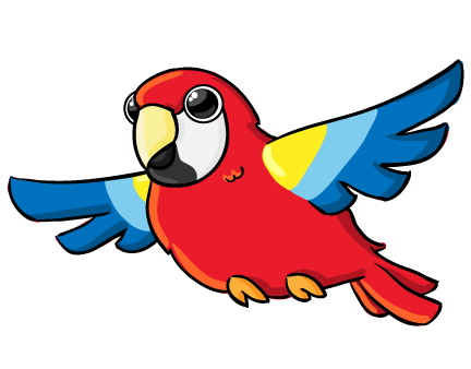 Parrot Clip Art   Images   Free For Commercial Use