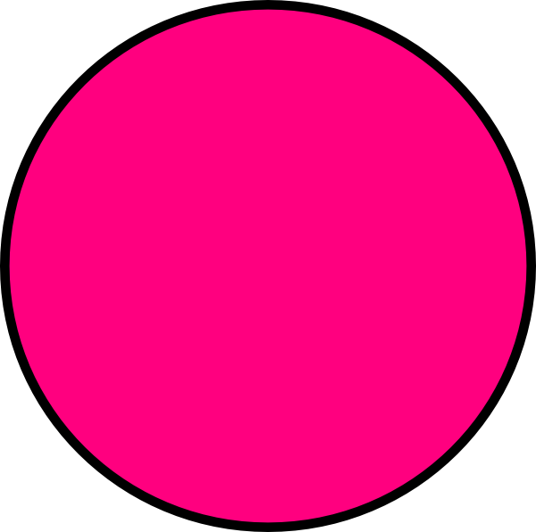 Pink Circle Shape Clipart   Cliparthut   Free Clipart
