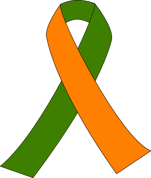 Ribbon For Kidney Walk Clip Art At Clker Com   Vector Clip Art Online