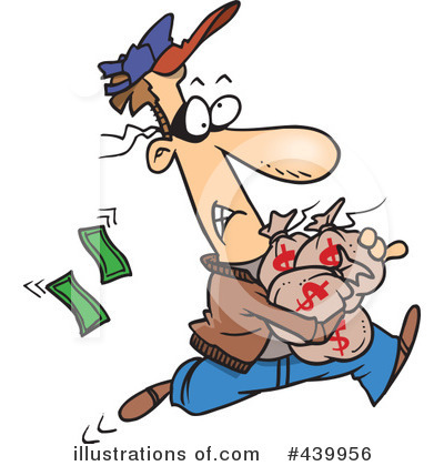Robber Clipart  439956   Illustration By Ron Leishman