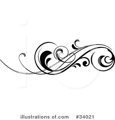 Scroll Clipart  34021   Illustration By Onfocusmedia