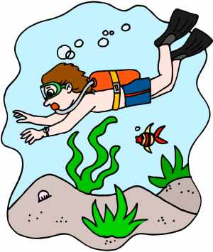 Scuba Clipart   Fun Diving Pictures For The Diver In You