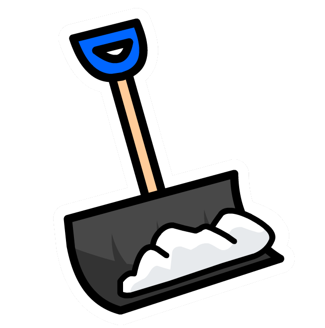 shoveling snow clipart free - photo #11