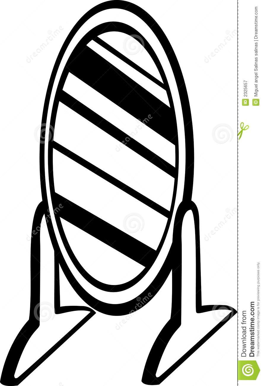Gallery For Hand Mirror Clipart Black And White YlGOSs