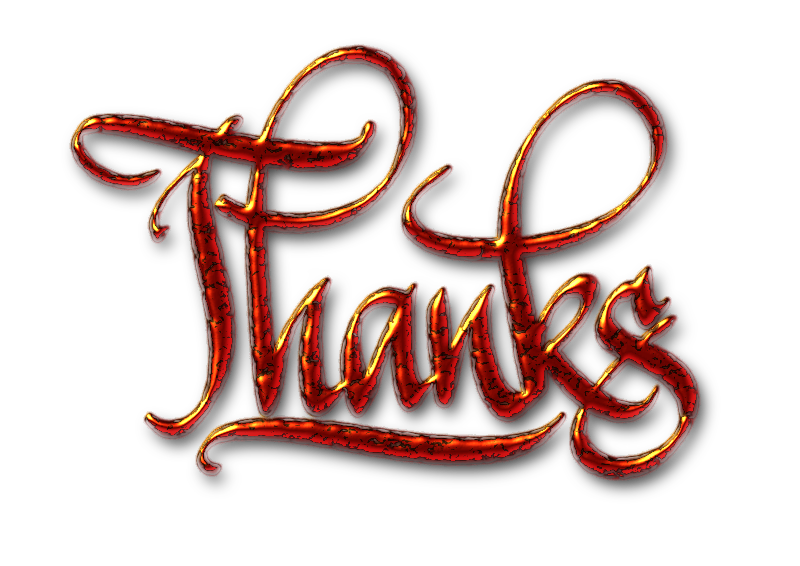Thanks Textured Digital Calligraphy By Florinf   Just A Digital Word