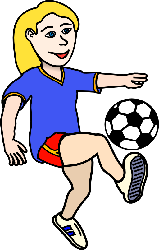 Clip Art Clip Art Soccer soccer girls clipart kid use these free images for your websites art projects reports and