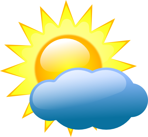 Weather Symbols Clip Art At Clker Com   Vector Clip Art Online