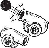 Cannon Clip Art Royalty Free  748 Cannon Clipart Vector Eps