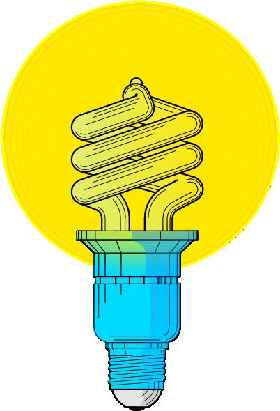Fluorescent Light Bulb Clipart - Clipart Kid