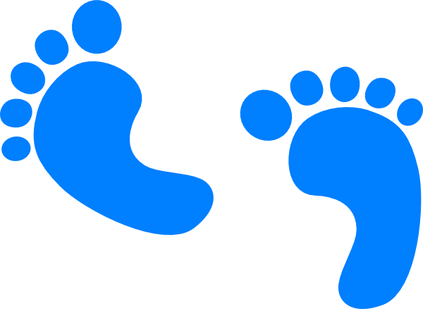 Download Baby Steps Clipart