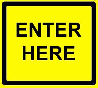 Enter Here Sign
