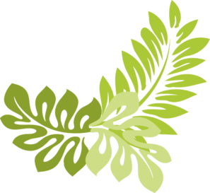 Jungle Leaves Clipart – Cliparts