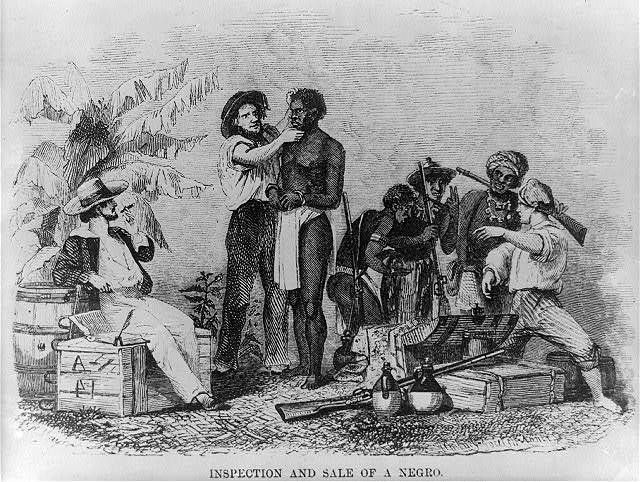 the issues of the slavery in the untied states and the routes of the slaves between the africa and a