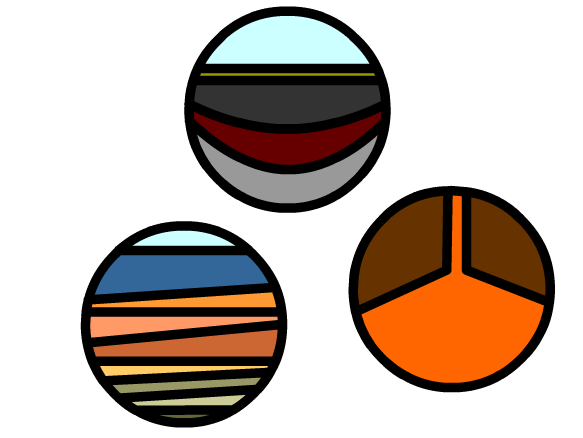 Rock Cycle Clipart - Clipart Kid