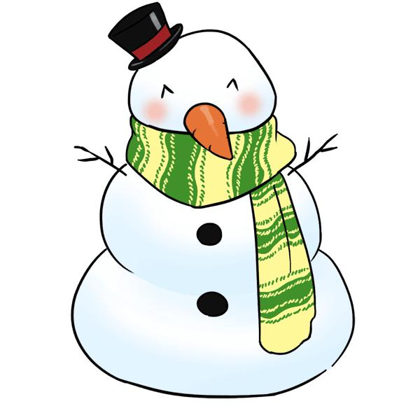 Snowman Free Clipart - Clipart Kid