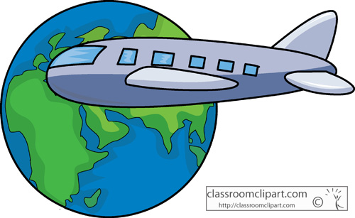 vacation airplane clip art - photo #18