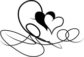 Heart Scribbles Heart Clipart Heart Drawings   The Printable Wedding